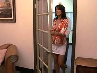horny lady zoe holloway drilling inside agency