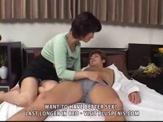 entreats woman and son with sex toy part1