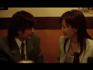 japanese housewife then door takes uneasy  orgy,
