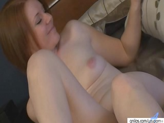amateur ginger mom in shoes pure solo