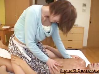 busty japanese older babes sucking part4