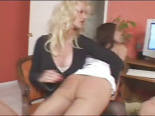 mom spanks and obtains rt of 2 slutty daughters 3