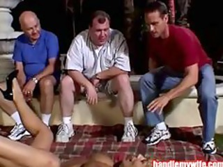 desperate mature babe gets fucked by men