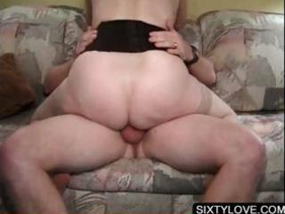 blonde grownup banging horny penis