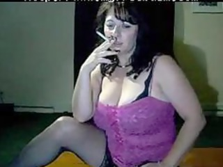 naughty mommy tells you to sperm while she smokes