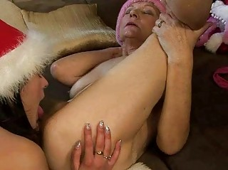 naughty elderly likes porn with gorgeous amateur