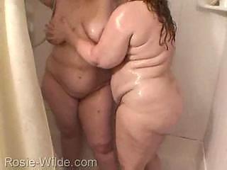 bbw older  woman tub