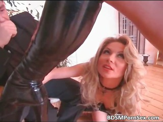 super blond older angel is dominated part1
