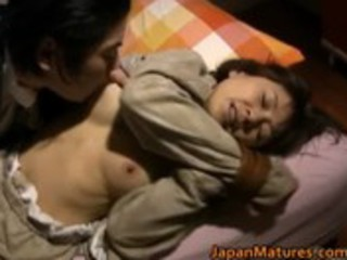 japanese girl is kinky and older