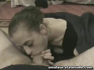 loyal boyfriend grants his girl with cum for good
