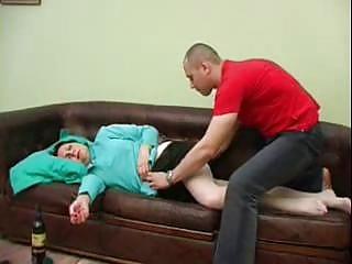 teenager gangbanged his naughty lady