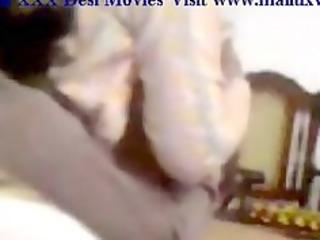pakistani aunty shalwar kameez woman drilling