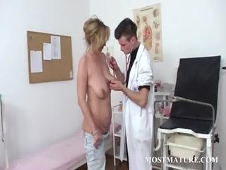 mature woman gets slut checkd at nurse