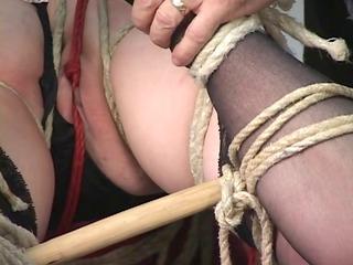 charming inexperienced slave girl inside g-string