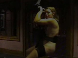 lady uses fuck swing