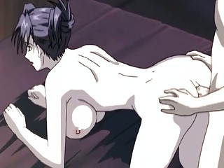 anime mature babe prettie takes a penis inside