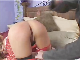 woman gets rt ang spanks a faking brat