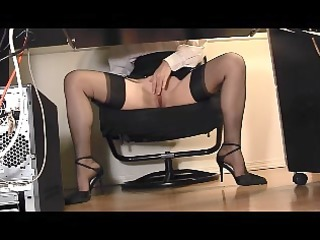 office masturbation 4