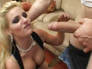 hor naughty blond woman taking vagina tasted and