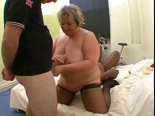 nasty french chubby mature, carole, obtains mixed