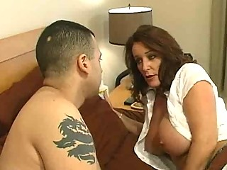 cougar whore with large boobs obtains a bedroom