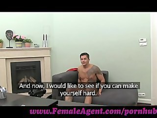 femaleagent. lady cums all over studs cock