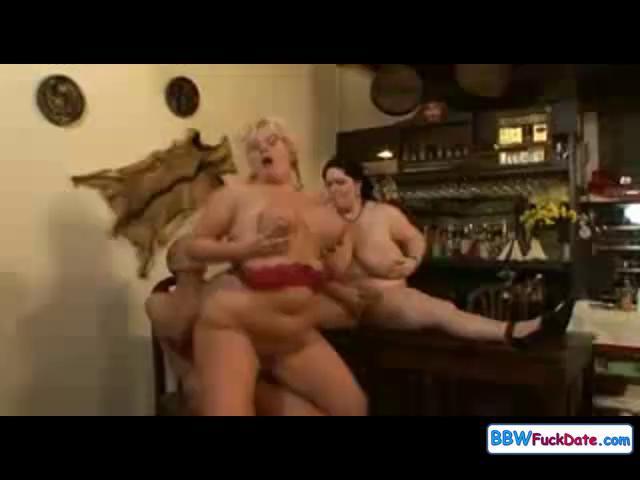 bbw older  group sex