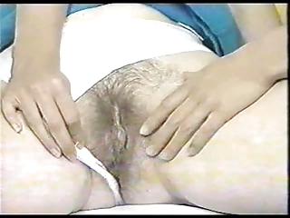 mother and step daughter strip, shave and tease