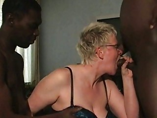two brown fuckers cock sucking from older