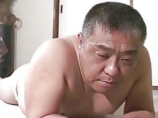 mature asian boy obtains spanking