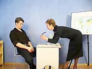 russian older  teacher and her undergraduate