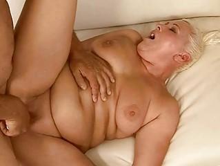 plump elderly acquiring her kitty pierced sexy