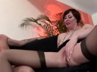 older  pantyhose seduction drilling