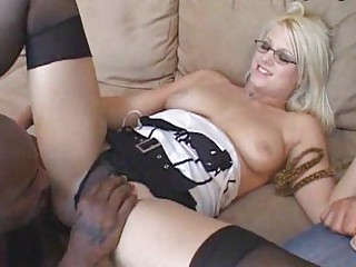 colorless wifeys hunger for black meat