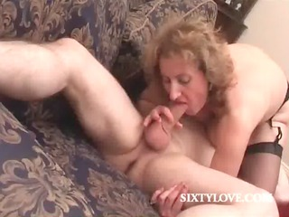 bleached mommy loves to drive cock