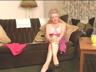 delightsome curly elderly granny fisting intro