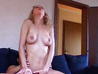 older  albino with giant breast licks libido and