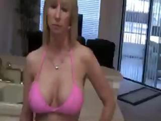 blond lady is licking on the neighbor men long,