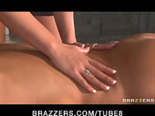 big breast lady massage turns in taut 69