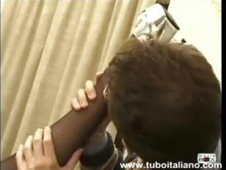italian milf cumface viemmi in viso