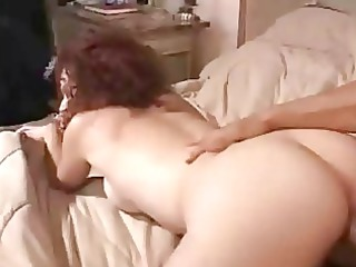 ginger wife obtain jizzed on