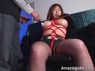 japanese momoko looking awesome inside stockings