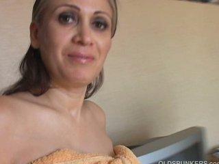 older  spanish woman drilled