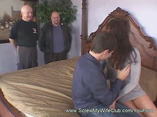 brunette cowgirl spanked during riding a cock