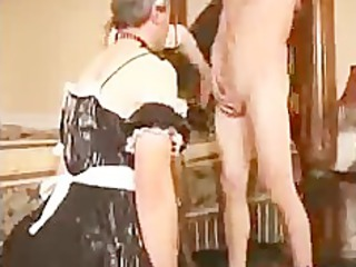 sissy lover licks dick for housewife bdsm bondage