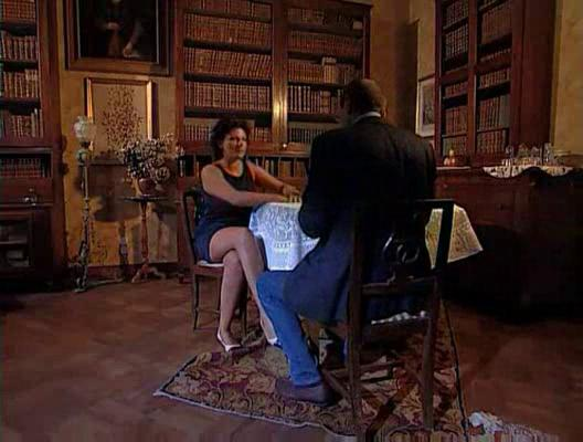 rich french woman takes drilled