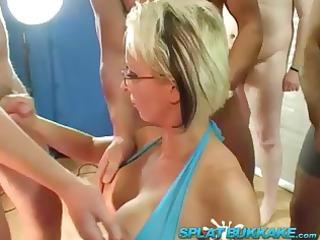 european woman tracy venus bukkake