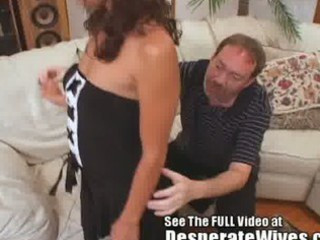 submissive woman whore trained on video by horny