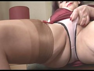 large chest older  milf exposes off awesome brief