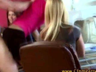 mature cfnm whore licks dick